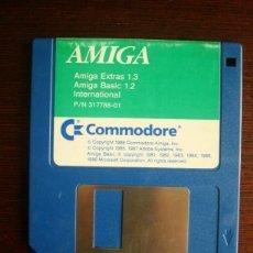 """Videojuegos y Consolas: AMIGA EXTRAS 1.3 AMIGA BASIC 1.2 INTERNATIONAL (COMMODORE AMIGA 500) 3,5"""" SOFTWARE ORIGINAL. Lote 232151715"""