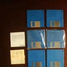 """Videojuegos y Consolas: LOTE 8 DISKETTES AMIGA 500 3,5"""" (DISQUETES) (DISK). Lote 232152460"""