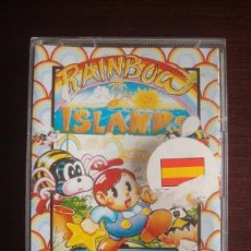 Videojuegos y Consolas: RAINBOW ISLANDS PARA AMIGA 500 (SÓLO CAJETILLA + CARÁTULA). Lote 232154425
