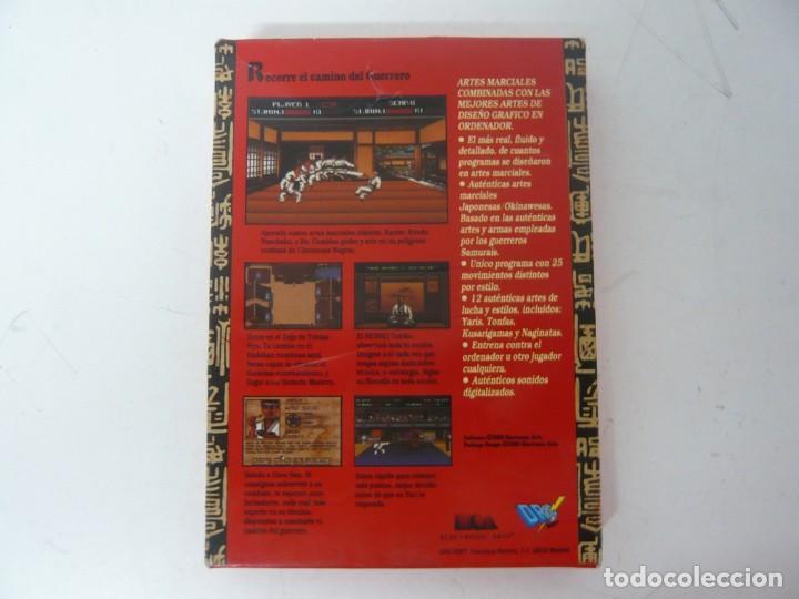 Videojuegos y Consolas: BUDOKAN / CAJA CARTÓN / COMMODORE AMIGA / RETRO VINTAGE / DISCO - DISKETTE - DISQUETE - Foto 2 - 233224745