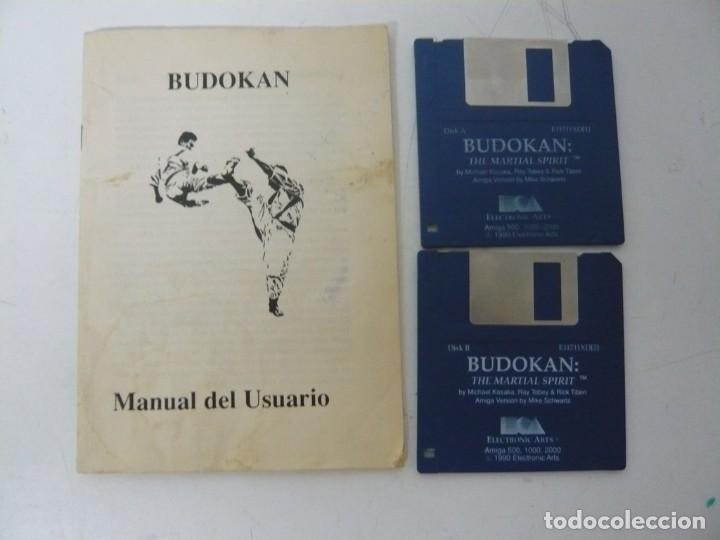 Videojuegos y Consolas: BUDOKAN / CAJA CARTÓN / COMMODORE AMIGA / RETRO VINTAGE / DISCO - DISKETTE - DISQUETE - Foto 4 - 233224745