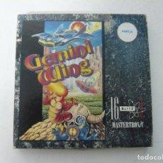 Videojuegos y Consolas: GEMINI WING / CAJA CARTÓN / COMMODORE AMIGA / RETRO VINTAGE / DISCO - DISKETTE - DISQUETE. Lote 233225320