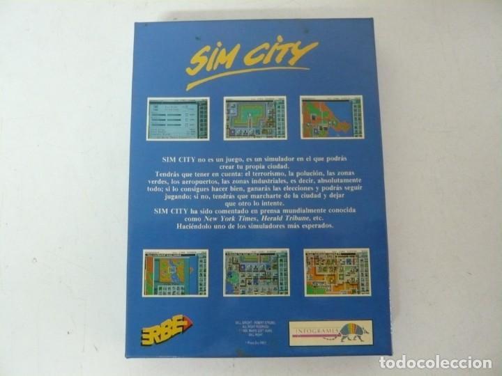 Videojuegos y Consolas: SIM CITY / CAJA CARTÓN / COMMODORE AMIGA / RETRO VINTAGE / DISCO - DISKETTE - DISQUETE - Foto 2 - 233226390