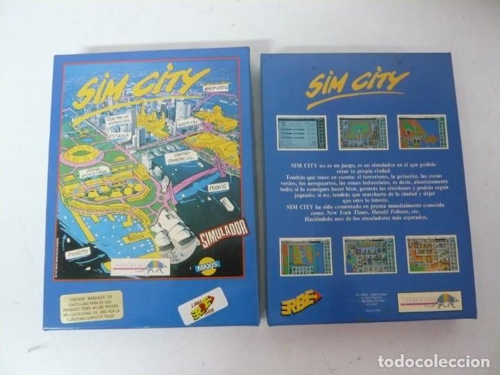 Videojuegos y Consolas: SIM CITY / CAJA CARTÓN / COMMODORE AMIGA / RETRO VINTAGE / DISCO - DISKETTE - DISQUETE - Foto 3 - 233226390
