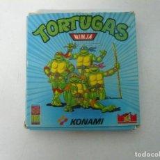 Videojuegos y Consolas: TORTUGAS NINJA / CAJA CARTÓN / COMMODORE AMIGA / RETRO VINTAGE / DISCO - DISKETTE - DISQUETE. Lote 233226820