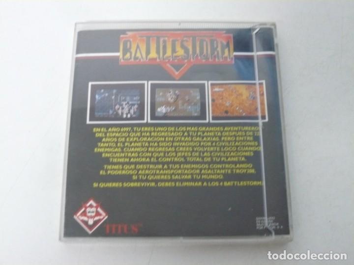 Videojuegos y Consolas: BATTLESTORM / ESTUCHE / COMMODORE AMIGA / RETRO VINTAGE / DISKETTE - DISQUETE - Foto 2 - 233227330