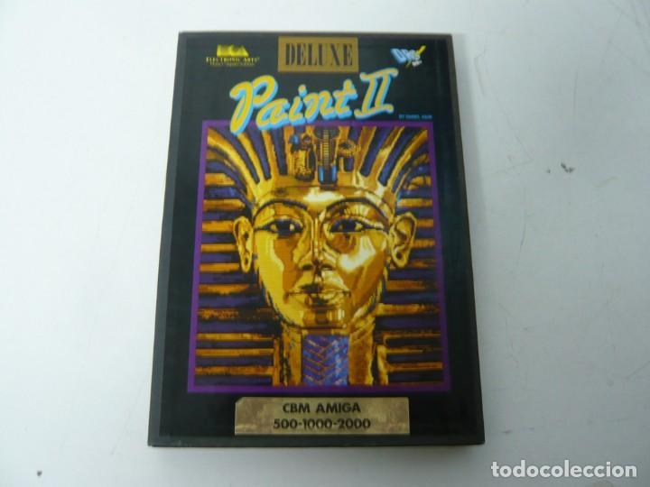 DELUXE PAINT 2 / CAJA CARTÓN / COMMODORE AMIGA / RETRO VINTAGE / DISKETTE - DISQUETE (Juguetes - Videojuegos y Consolas - Amiga)