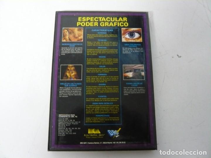 Videojuegos y Consolas: DELUXE PAINT 2 / CAJA CARTÓN / COMMODORE AMIGA / RETRO VINTAGE / DISKETTE - DISQUETE - Foto 2 - 233229775