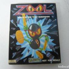 Jeux Vidéo et Consoles: ZOOL / CAJA CARTÓN / COMMODORE AMIGA / RETRO VINTAGE / DISKETTE - DISQUETE. Lote 233230230