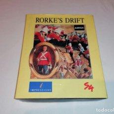Videojuegos y Consolas: RORKE'S DRIFT VERSION PARA AMIGA SYSTEM 4 EDICION ESPAÑOLA. Lote 236063865