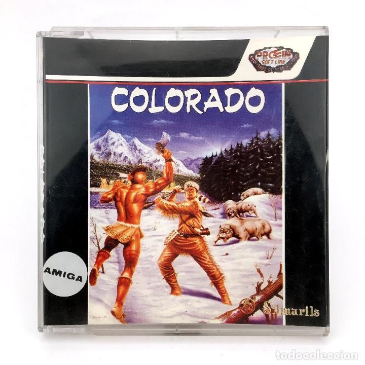 COLORADO PROEIN SOFT LINE ESPAÑA SILMARILS 1990 DISCO 3½ JUEGO DE ORDENADOR COMMODORE AMIGA DISKETTE (Juguetes - Videojuegos y Consolas - Amiga)