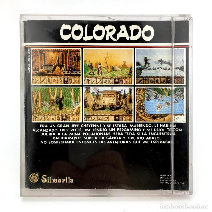 Videojuegos y Consolas: COLORADO PROEIN SOFT LINE ESPAÑA SILMARILS 1990 DISCO 3½ JUEGO DE ORDENADOR COMMODORE AMIGA DISKETTE - Foto 3 - 236181605