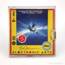 Videojuegos y Consolas: F/A-18 INTERCEPTOR DRO SOFT ELECTRONIC ARTS BOB DINNERMAN DISCO 3½ JUEGO DE COMMODORE AMIGA DISKETTE. Lote 236194735