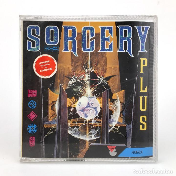 SORCERY PLUS DRO SOFT VIRGIN DISCO 3½ MAGIA BRUJERIA EDAD MEDIA JUEGO RETRO COMMODORE AMIGA DISKETTE (Juguetes - Videojuegos y Consolas - Amiga)