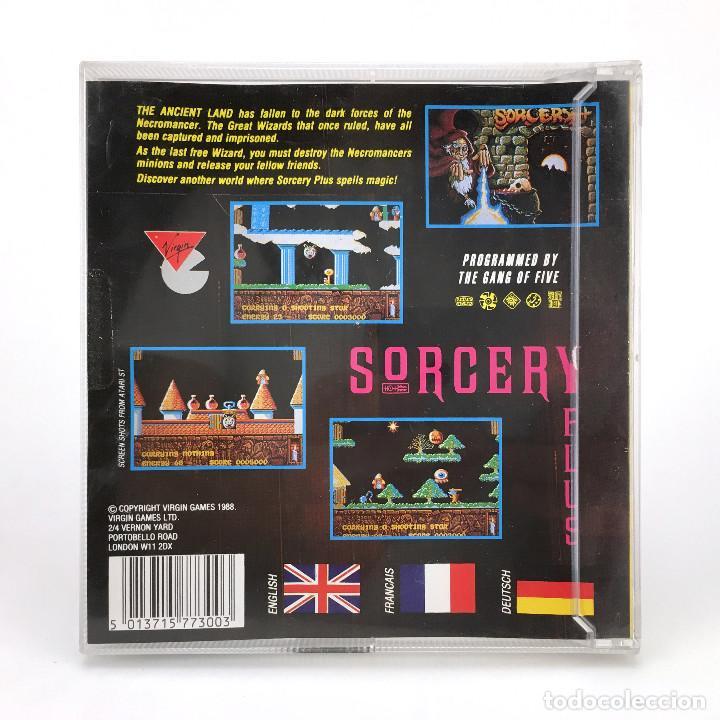 Videojuegos y Consolas: SORCERY PLUS DRO SOFT VIRGIN DISCO 3½ MAGIA BRUJERIA EDAD MEDIA JUEGO RETRO COMMODORE AMIGA DISKETTE - Foto 3 - 236197670