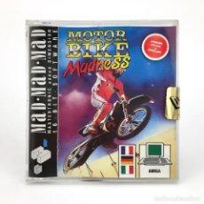 Videojuegos y Consolas: MOTOR BIKE MADNESS DRO SOFT ESPAÑA MASTERTRONIC DISK / DISCO 3½ JUEGO RETRO COMMODORE AMIGA DISKETTE. Lote 236521480