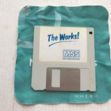 Videojuegos y Consolas: THE WORKS DISKETE DISKET DISQUETE FLOPPY DISK INFORMATICA KREATEN. Lote 236642950