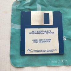 Videojuegos y Consolas: PETER BEARDSLEY INTERNATIONAL FOOTBALL DISKETE DISKET DISQUETE FLOPPY DISK INFORMATICA KREATEN. Lote 236644205