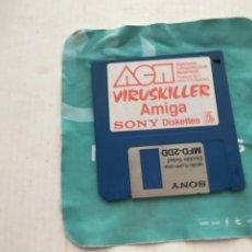 Videojuegos y Consolas: VIRUSKILLER AMIGA SONY VIRUS KILLER DISKETE DISKET DISQUETE FLOPPY DISK INFORMATICA KREATEN. Lote 236644350