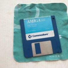 Videojuegos y Consolas: AMIGA 500 COMMODORE STAP VOOR 87 DISKETE DISKET DISQUETE FLOPPY DISK INFORMATICA KREATEN. Lote 236644915