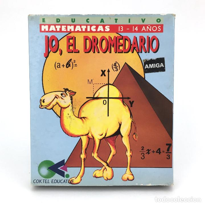 JO, EL DROMEDARIO. SYSTEM 4 / COKTEL EDUCATIVE MATEMATICAS COMMODORE AMIGA 500 1000 2000 DISKETTE 3½ (Juguetes - Videojuegos y Consolas - Amiga)