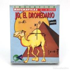 Videojuegos y Consolas: JO, EL DROMEDARIO. SYSTEM 4 / COKTEL EDUCATIVE MATEMATICAS COMMODORE AMIGA 500 1000 2000 DISKETTE 3½. Lote 238780965