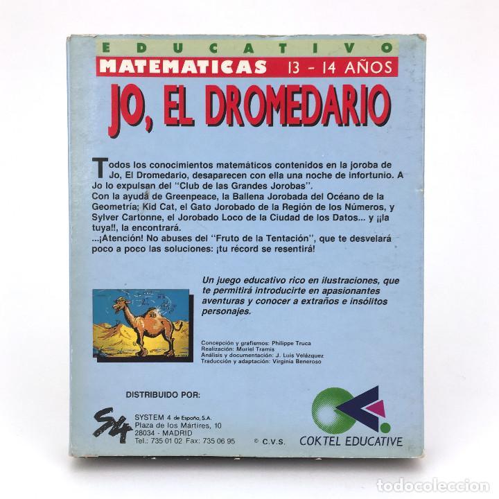 Videojuegos y Consolas: JO, EL DROMEDARIO. SYSTEM 4 / COKTEL EDUCATIVE MATEMATICAS COMMODORE AMIGA 500 1000 2000 DISKETTE 3½ - Foto 3 - 238780965