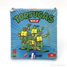 Videojuegos y Consolas: LAS TORTUGAS NINJA MCM KONAMI 1990 TEENAGE MUTANT TMNT TURTLES COMMODORE AMIGA 1000 2000 DISKETTE 3½. Lote 239655685