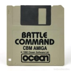Videojuegos y Consolas: BATTLE COMMAND - OCEAN - 1990 VIDEO JUEGO RETRO INFORMATICA VINTAGE DISKETTE 3½ COMMODORE AMIGA DISK. Lote 243064150