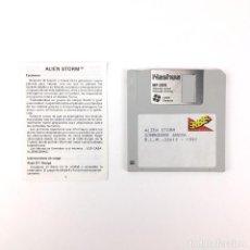 Videojuegos y Consolas: ALIEN STORM · ERBE ESPAÑA SEGA 1991 JUEGO RETRO INFORMATICA VINTAGE DISKETTE 3½ COMMODORE AMIGA DISK. Lote 243064930