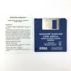 Videojuegos y Consolas: SHADOW DANCER - EDICION ESPAÑOLA SEGA U.S. GOLD 1991 JUEGO RETRO VINTAGE COMMODORE AMIGA DISKETTE 3½. Lote 243103205