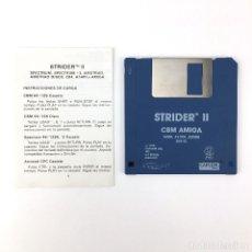 Videojuegos y Consolas: STRIDER II - EDICION ESPAÑOLA CAPCOM 1990 - JUEGO RETRO VINTAGE COMMODORE AMIGA 500 1000 DISKETTE 3½. Lote 243103255