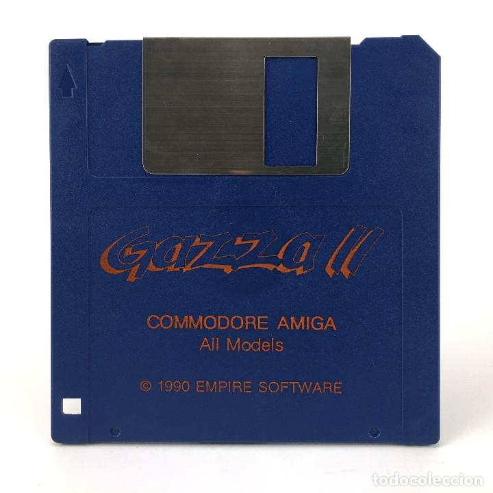 GAZZA II EMPIRE SOFTWARE 1990 FUTBOL PAUL GASCOIGNE SOCCER COMMODORE AMIGA 500 1000 2000 DISKETTE 3½ (Juguetes - Videojuegos y Consolas - Amiga)