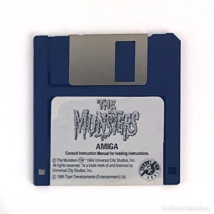 THE MUNSTERS. 1989 LA FAMILIA MONSTER TIGER DISK JUEGO CBM COMMODORE AMIGA 500 1000 2000 DISKETTE 3½ (Juguetes - Videojuegos y Consolas - Amiga)