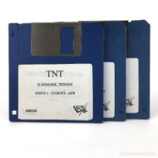 Videojuegos y Consolas: TNT : XYBOTS APB HARD DRIVIN TOOBIN DRAGON SPIRIT DRO SOFT COMMODORE AMIGA 500 1000 2000 DISKETTE 3½. Lote 243103545