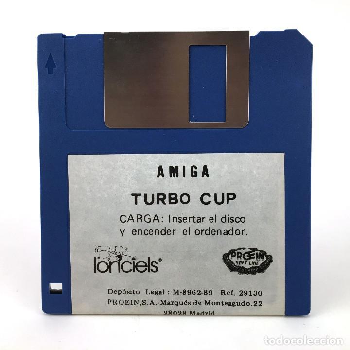 TURBO CUP. PROEIN / LORICIELS 1989 CBM RETRO F1 RACING CBM COMMODORE AMIGA 500 1000 2000 DISKETTE 3½ (Juguetes - Videojuegos y Consolas - Amiga)