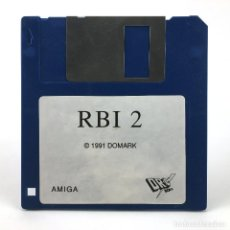 Videojuegos y Consolas: RBI BASEBALL TWO. DISKETTE DRO SOFT ESPAÑA TENGEN 1991 CBM COMMODORE AMIGA 500 1000 2000 DISKETTE 3½. Lote 243103590