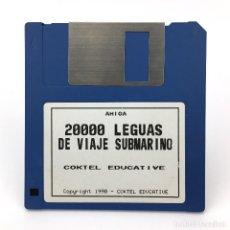 Videojuegos y Consolas: 20000 LEGUAS DE VIAJE SUBMARINO COKTEL EDUCATIVE ANTIGUO VIDEOJUEGO VINTAGE COMMODORE AMIGA DISKETTE. Lote 243911600