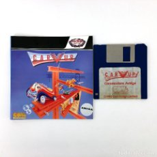 Videojuegos y Consolas: CARVUP PROEIN CORE JUEGO PLATAFORMAS CITY CONNECTION DISCO COMMODORE AMIGA 500 1000 2000 DISKETTE 3½. Lote 244610770