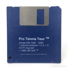 Videojuegos y Consolas: PRO TENNIS TOUR UBI SOFT 1989 DISK TENIS JUEGO RETRO DEPORTE VINTAGE DISKETTE 3½ CBM COMMODORE AMIGA. Lote 252789090