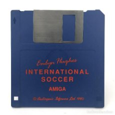 Videojuegos y Consolas: EMLYN HUGHES INTERNATIONAL SOCCER / AUDIOGENIC SOFTWARE 1990. FUTBOL DISKETTE 3½ CBM COMMODORE AMIGA. Lote 253042980