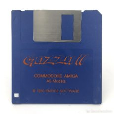Videojuegos y Consolas: GAZZA II / EMPIRE SOFTWARE 1990 / DISK FUTBOL PAUL GASCOIGNE SOCCER DISKETTE 3½ CBM COMMODORE AMIGA. Lote 253043000