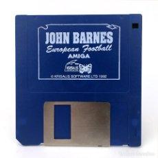 Videojuegos y Consolas: JOHN BARNES EUROPEAN FOOTBALL KRISALIS SOFTWARE 1992 SOCCER JUEGO FUTBOL DISKETTE 3½ COMMODORE AMIGA. Lote 253043015