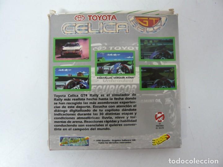 Videojuegos y Consolas: TOYOTA CELIGA GT RALLY / CAJA CARTÓN / COMMODORE AMIGA / RETRO VINTAGE / DISCO - DISKETTE - DISQUETE - Foto 2 - 253705785