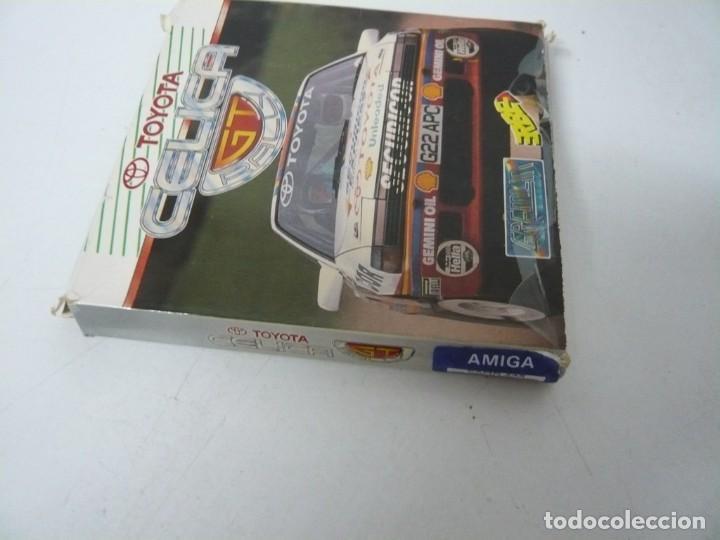 Videojuegos y Consolas: TOYOTA CELIGA GT RALLY / CAJA CARTÓN / COMMODORE AMIGA / RETRO VINTAGE / DISCO - DISKETTE - DISQUETE - Foto 3 - 253705785
