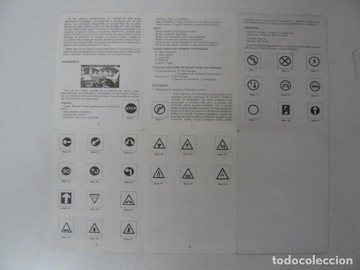 Videojuegos y Consolas: TOYOTA CELIGA GT RALLY / CAJA CARTÓN / COMMODORE AMIGA / RETRO VINTAGE / DISCO - DISKETTE - DISQUETE - Foto 6 - 253705785