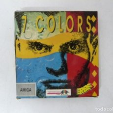 Videojuegos y Consolas: 7 COLORS / CAJA CARTÓN / COMMODORE AMIGA / RETRO VINTAGE / DISCO - DISKETTE - DISQUETE. Lote 253706075