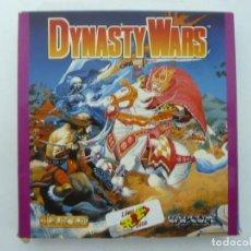 Videojuegos y Consolas: DYNASTY WARS / CAJA CARTÓN / COMMODORE AMIGA / RETRO VINTAGE / DISCO - DISKETTE - DISQUETE. Lote 253706385