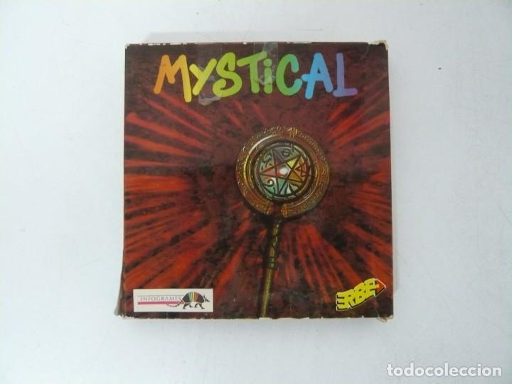 MYSTICAL / CAJA CARTÓN / COMMODORE AMIGA / RETRO VINTAGE / DISCO - DISKETTE - DISQUETE (Juguetes - Videojuegos y Consolas - Amiga)