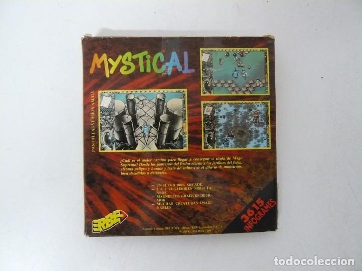 Videojuegos y Consolas: MYSTICAL / CAJA CARTÓN / COMMODORE AMIGA / RETRO VINTAGE / DISCO - DISKETTE - DISQUETE - Foto 2 - 253706650